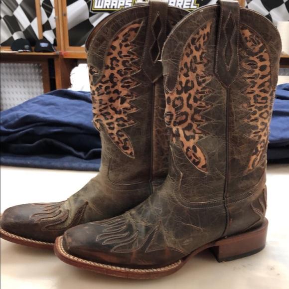 719ef811061 Johnny Ringo square toe women's boots
